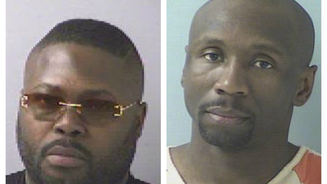 Christopher Whitfield (left) and Steven Griffin
