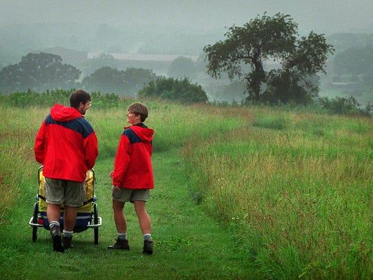 A couple hikes the Verona segment of the Ice Age Trail