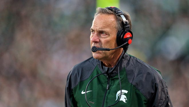 Michigan State Spartans head coach Mark Dantonio.