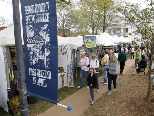 The annual Pendleton Spring Jubilee.