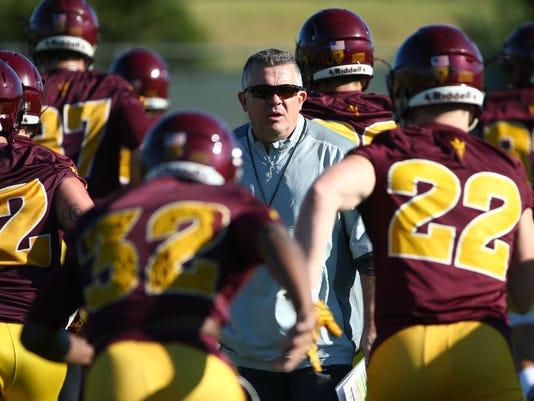 Arizona State Football Spring Practice 2017