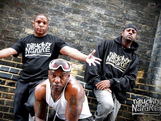 East Orange-based trio Naughty by Nature celebrates