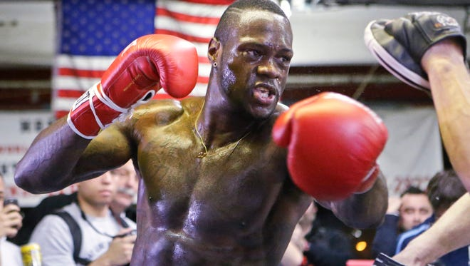 Deontay Wilder, the WBC heavyweight champion, will appear at Riverwalk Stadium on June 23.