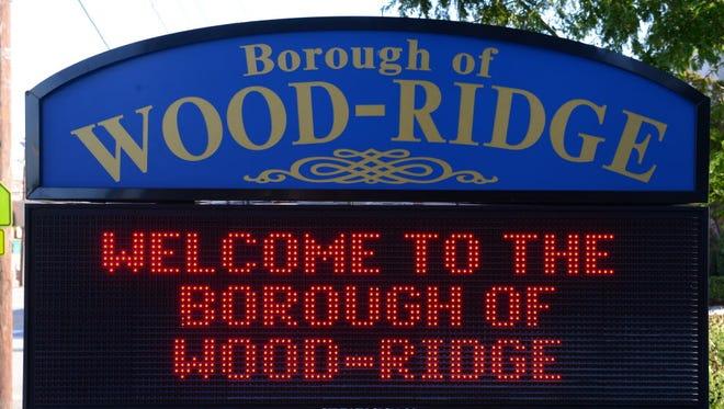 Wood-Ridge welcome sign