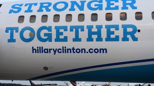The Dayton Flyers used Hillary Clinton's campaign plane