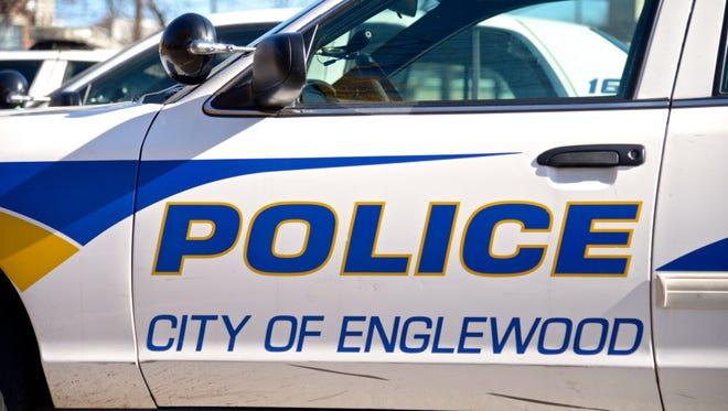 An Englewood police car.