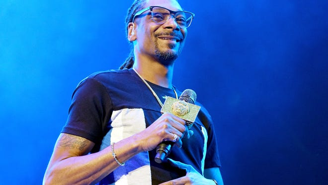 Recording artist Snoop Dogg performs onstage at night one of the 2017 BET Experience.