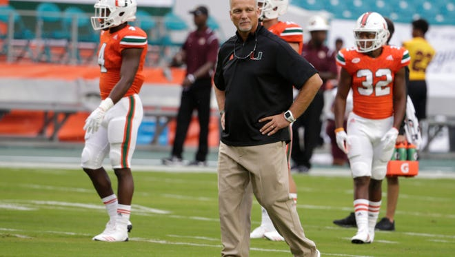 Miami head coach Mark Richt has guided the Hurricanes to a 9-0 record and their first ACC Championship Game berth.