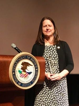 Debra McCall Reed, director of victim services for Delaware State Police was in Washington, D.C. in April to accept the 2018 National Crime Victim Service Award.