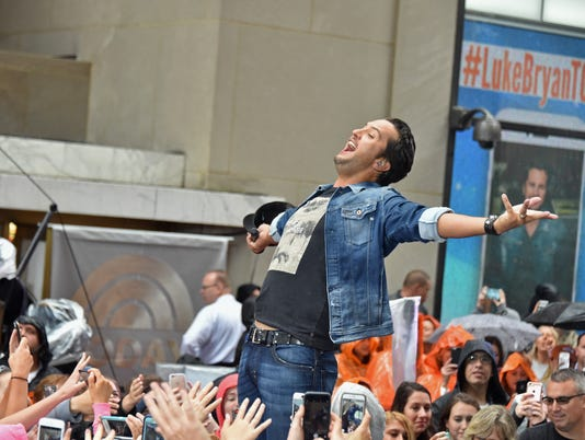 "Luke Bryan Performs On NBC's ""Today"""