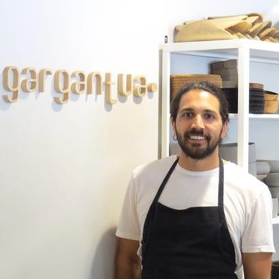 Chef Nick Barainca named his restaurant, gargantua,