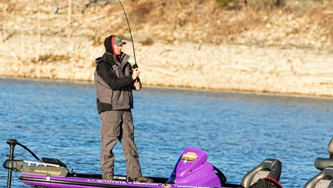 John Garrett, 21, of Union City, is the youngest collegiate angler to ever qualify for the Bassmaster Classic.