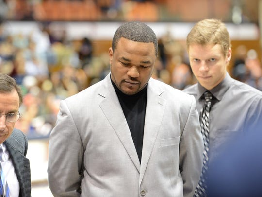 Tom Abatemarco, left, and Senque Carey coached together at Loyola Marymount.