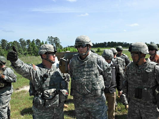 Odierno visits Fort Polk