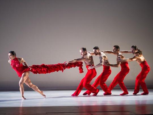 "Ballet Hispanico's ""Linea Recta"" is choreographed by"