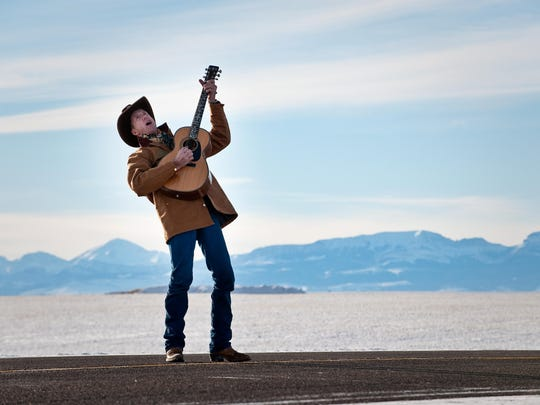 Conrad-area cowboy Wylie Gustafson has written several songs about Montana.