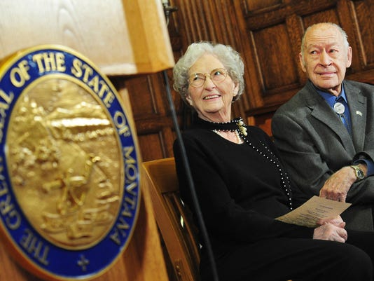 Betty Babcock, Tim Babcock