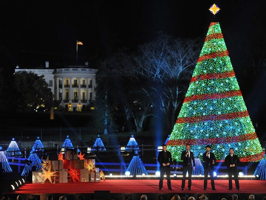 """National Park Foundation and Google's """"Made with Code"""" National Christmas Tree Lightening Ceremony"""
