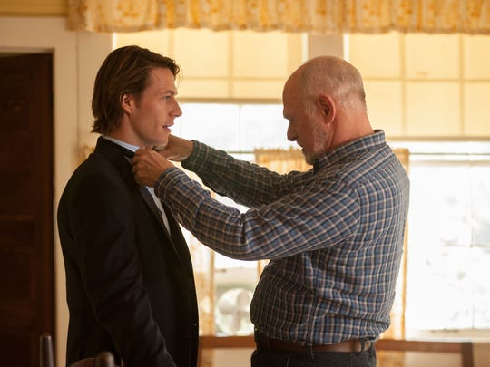 """Luke Bracey and Gerald McRaney star in """"The Best of Me."""""""