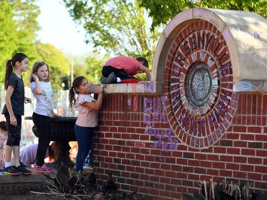 Children show support for their small community as