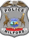 Milford Police Department badge