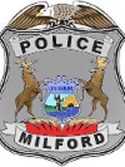 Milford Police Department badge