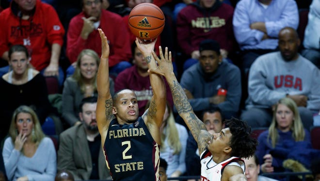 Florida State sophomore guard CJ Walker led the way with 24 points during the Seminoles 78-73 victory over Rutgers at Louis Brown Athletic Center.
