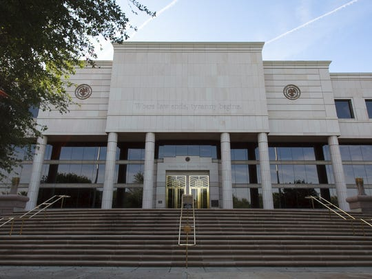 The Arizona State Courts Building