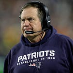 New England Patriots head coach Bill Belichick watches during the second half of NFL Super Bowl XLIX against the Seattle Seahawks Sunday, Feb. 1, 2015, in Glendale, Ariz.