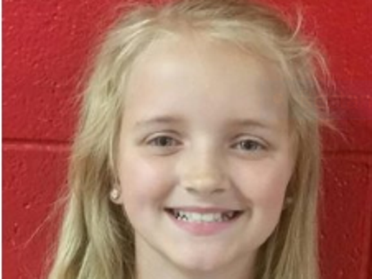 An Amber Alert was issued May 5, 2016, for Carlie Marie Trent, age 9.