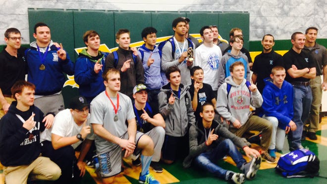 Enka won Saturday's Mountain Athletic Conference wrestling tournament at Reynolds.