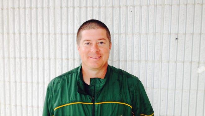 Reynolds soccer coach Patrick Gladys.
