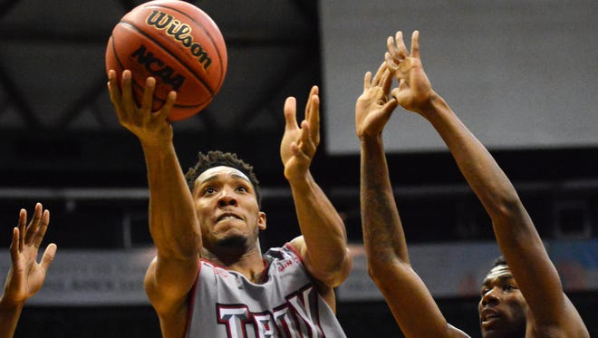 Wesley Person Jr. will likely become Troy's all-time leading men's basketball scorer this weekend.