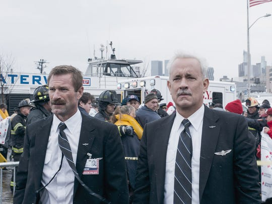 """Aaron Eckhart (left) and Tom Hanks star in """"Sully."""""""
