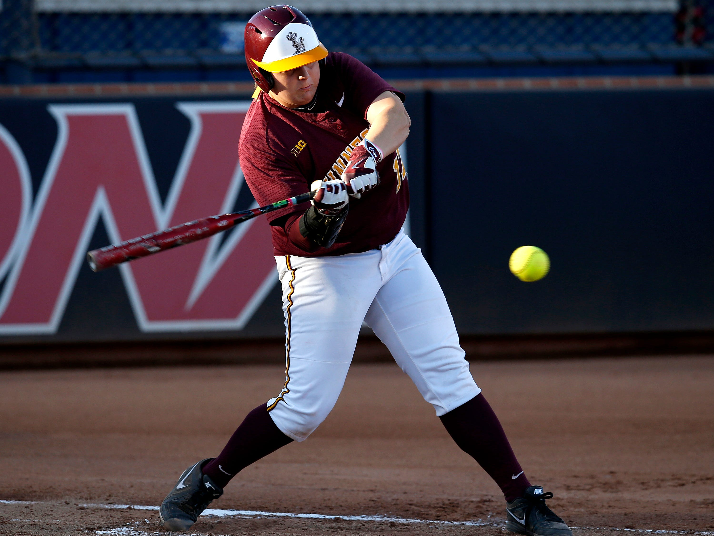 Senior Sara Groenewegen's arm may be the difference for Minnesota in this year's NCAA Tournament.