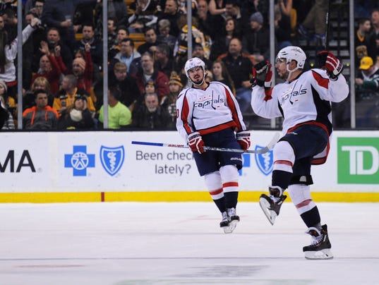 USP NHL: WASHINGTON CAPITALS AT BOSTON BRUINS S HKN USA MA