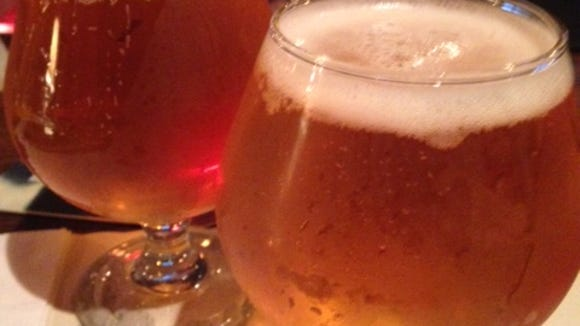 Nothing beats fresh Pliny the Edler from Russian River Brewing.
