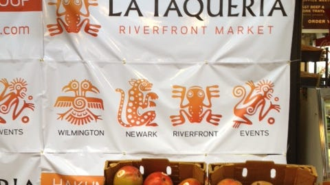 A taqueria operated by the folks who own Santa Fe Mexican restaurants in Newark and Wilmington is opening soon at the Riverfront Market.