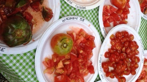 Are you ready for an explosion of heirloom tomatoes?