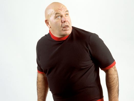 George (the Animal) Steele, who's real name was Jim