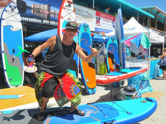 Scenes from the National Kidney Foundation Pro/Am Rich Salick Surf Festival in Cocoa Beach Saturday.