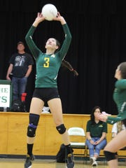 La Reina volleyball star Michelle Shaffer was named the MVP of the Tri-Valley League.