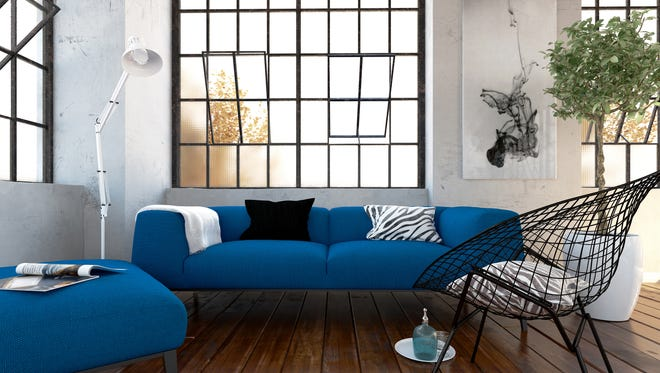Grouping couches and chairs together can create new conversation areas in your home.