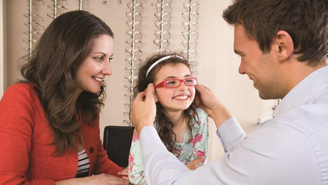 A full vision screening from an eye care professional is needed to evaluate a child's eye function.
