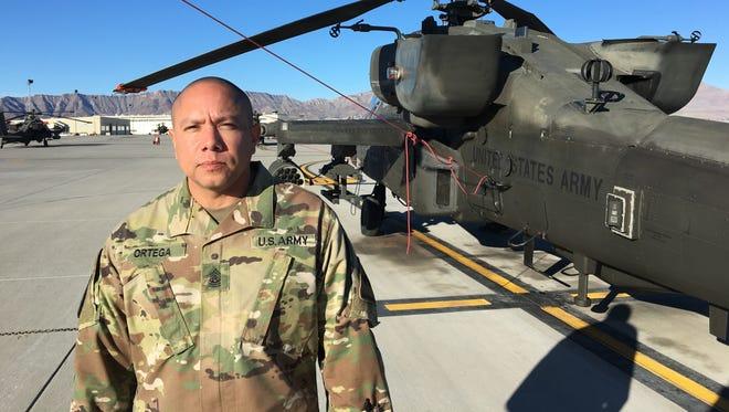 Command Sgt. Maj. Javier Ortega is the new senior enlisted leader for 1st Battalion, 501st Aviation Regiment.