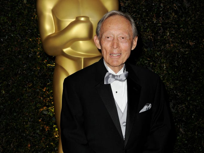 Makeup artist Dick Smith, who has been making actors believable in their roles for decades, has died. He was 92. Let's take a look back at his career.<br /> <br /> Here, he arrives at the 2011 Academy Governors Awards in Los Angeles.