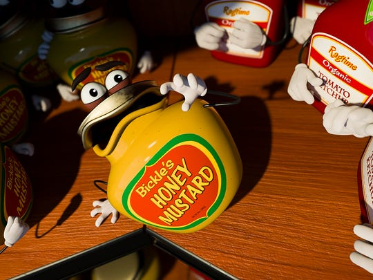 """Honey Mustard has seen what awaits in the Great Beyond in """"Sausage Party."""""""