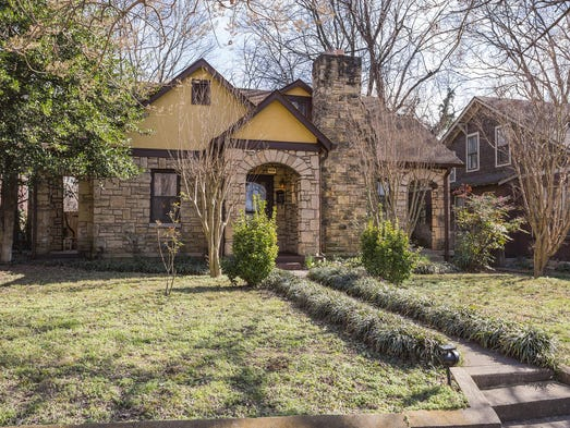 An East Nashville home on Boscobel Street that was