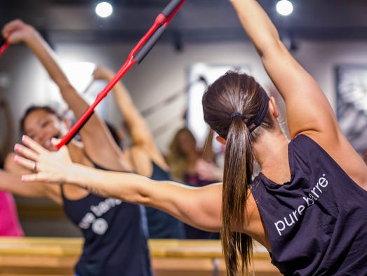 Pure Barre is a franchise with 375 studios across the