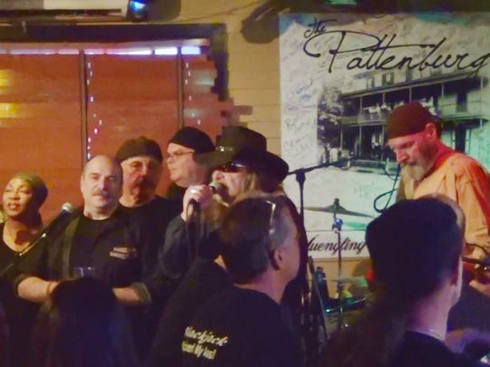 The fourth annual Blackjack Holiday Jam will return on Nov. 22 to the Pattenburg House. Pictured from last year's jam from left to right are Bob Baltera, Barb Walker, Wiley Moody, Bob Prushinski, Scott Ward, Tommy Lunger Sr, organizer Don Miller, Ken Donatelli, and Chris Hedges.